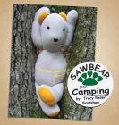 Sawbear goes Camping (Sawbear Books) Cover Image