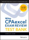 Wiley's CPA 2022 Test Bank: Complete Exam (2-Yearaccess) Cover Image