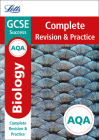 Letts GCSE Revision Success - New Curriculum – AQA GCSE Biology Complete Revision & Practice Cover Image