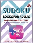 Sudoku Books for Adults: Easy to Hard Puzzles to Kill Time and Have Some Fun Cover Image