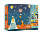 Professor Astro Cat's Frontiers of Space 500-Piece Puzzle: Cosmic Jigsaw Puzzle and Seek-and-Find Poster : Jigsaw Puzzles for Kids Cover Image