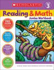 Reading & Math Jumbo Workbook: Grade 3 Cover Image