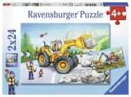 Diggers at Work (2 X 24 PC Puz Cover Image