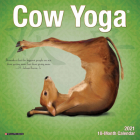 Cow Yoga 2021 Mini Wall Calendar Cover Image