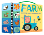 Farm Puzzle and Sticker Book (My Little World) Cover Image