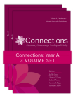 Connections: Year A, Three-Volume Set: A Lectionary Commentary for Preaching and Worship Cover Image