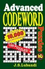 Advanced Codeword Puzzles 2 Cover Image