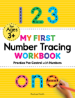 My First Number Tracing Workbook: Practice Pen Control with Numbers Cover Image