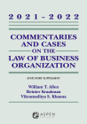 Commentaries and Cases on the Law of Business Organizations: 2021-2022 Statutory Supplement (Supplements) Cover Image