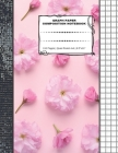 Graph Paper Composition Notebook: 110 Pages - Quad Ruled 4x4 - 8.5