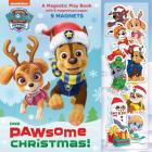 One Paw-some Christmas: A Magnetic Play Book (PAW Patrol) Cover Image