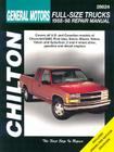 Chevrolet Pick-Ups, 1988-98 (Chilton's Total Car Care Repair Manuals) Cover Image