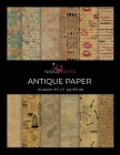 Antique Paper: Scrapbooking, Design and Craft Paper, 40 sheets, 12 designs, size 8.5