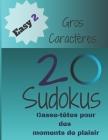 20 Sudokus: Casse-Têtes pour des moments de plaisir (Easy... #2) Cover Image