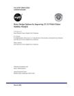 Rotor Design Options for Improving XV-15 Whirl-Flutter Stability Margins Cover Image