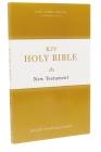 KJV, Holy Bible New Testament, Paperback Cover Image