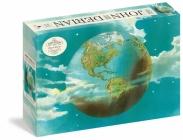 John Derian Paper Goods: Planet Earth 1,000-Piece Puzzle (Artisan Puzzle) Cover Image