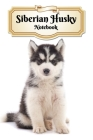 Siberian Husky Notebook: Puppy - Composition Book 150 pages 6 x 9 in. - 5x5mm Graph Paper - Writing Notebook - Grid Paper - Soft Cover - Drawin Cover Image