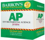 Barron's AP Environmental Science Flash Cards Cover Image