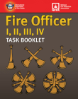 Fire Officer I, II, III, IV Task Booklet Cover Image