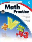 Math Practice, Grade 5 (Kelley Wingate) Cover Image