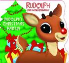 Rudolph's Christmas Party! (Rudolph the Red-Nosed Reindeer) Cover Image