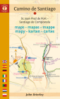 Camino de Santiago Maps: St. Jean Pied de Port - Santiago de Compostela Cover Image