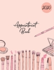 2020 Appointment Book: Large Diary with 15 Minute Time Slots: 8AM - 9PM: 6 Days At A Glance Cover Image