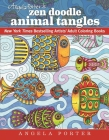 Angela Porter's Zen Doodle Animal Tangles: New York Times Bestselling Artists' Adult Coloring Books Cover Image