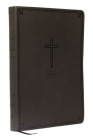 KJV, Value Thinline Bible, Compact, Imitation Leather, Black, Red Letter Edition Cover Image