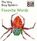 The Very Busy Spider's Favorite Words Cover Image