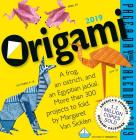 Origami Page-A-Day Calendar 2019 Cover Image