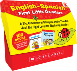English-Spanish First Little Readers: Guided Reading Level A (Classroom Set): 25 Bilingual Books That are Just the Right Level for Beginning Readers Cover Image