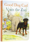Good Dog Carl Visits the Zoo - Board Book Cover Image