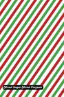Blood Sugar Blood Pressure: Christmas Lines Diagonal Cover Cover Image
