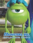 Monsters Inc Coloring Book: High Quality Pages Of Fun Coloring For Kids And Teens Cover Image