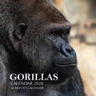 Gorillas Calendar 2020: 16 Month Calendar Cover Image