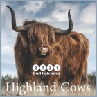 2021 Highland Cows: 2021 Wall & Office Calendar, 12 Month Calendar Cover Image