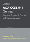 Collins GCSE 9-1 Revision – AQA GCSE 9-1 German All-in-One Revision and Practice Cover Image