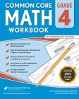 4th grade Math Workbook: CommonCore Math Workbook Cover Image