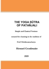 The Yoga Sutra of Patanjali: Notated for Chanting Cover Image