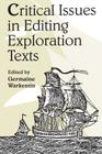 Critical Issues Editing Exploration Text (Heritage) Cover Image