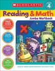 Reading & Math Jumbo Workbook: Grade 4 Cover Image