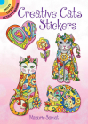 Creative Cats Stickers (Dover Little Activity Books) Cover Image