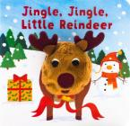 Jingle, Jingle, Little Reindeer Finger Puppet Book Cover Image