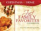 Just Family Favorites Cookbook Cover Image