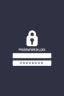 Password Log Book Cover Image
