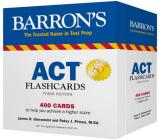ACT Flashcards (Barron's Test Prep) Cover Image