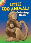 Little Zoo Animals Coloring Book (Dover Little Activity Books) Cover Image