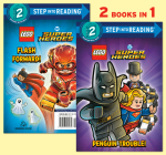 Penguin Trouble!/Flash Forward! (LEGO Batman) (Step into Reading) Cover Image
